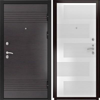 Входные двери  Luxor 7 ПВХ Эмаль белая