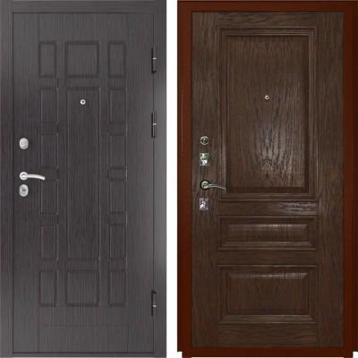 Входные двери  Luxor 5 Фараон-2 морёный дуб