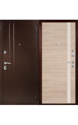 Входные двери Т6 капучино