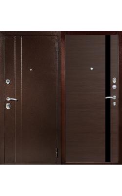 Входные двери Т6 венге