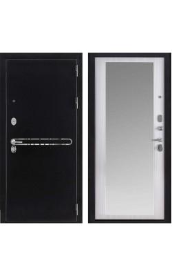 Входные двери Президент S1Z сандал белый + зеркало maxi