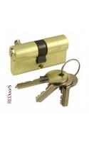 Цилиндровый механизм (личинка замка) V60-SB Матовое золото