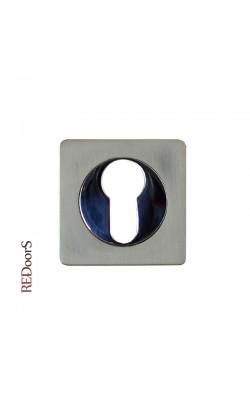 Накладка на цилиндр замка ET02D Матовый никель