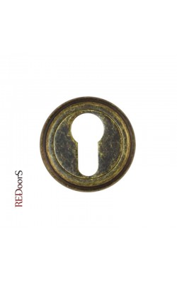 Накладка на цилиндр замка ET03BR Состаренная бронза