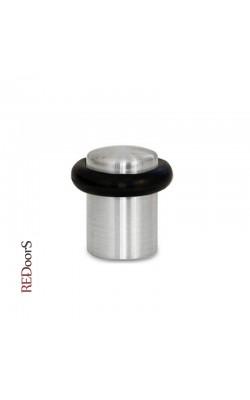 Дверной ограничитель DS1-SN Матовый никель