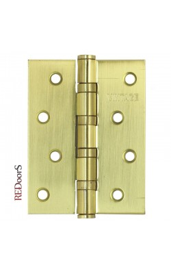 Петли дверные B-4 SB Матовое золото