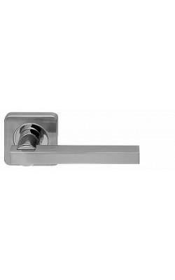 Ручки дверные Orbis SQ004-21SN/CP-3 матовый никель/хром