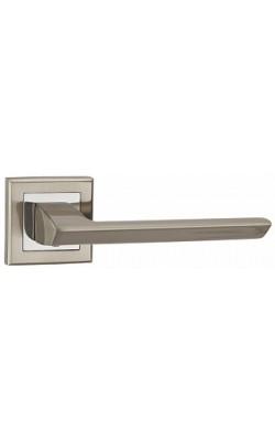 Ручки дверные Blade QL SN/CP-3 матовый никель/хром.