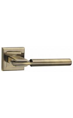Ручки дверные City QL ABG-6 зеленая бронза.