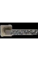 Ручки дверные Родриго DH 80-02 OB (бронза состаренная)
