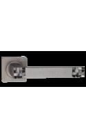 Ручки дверные Марелла DH 77-02 SL (серебро античное)
