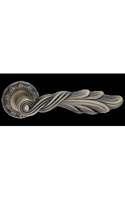 Ручки дверные Лучия DH 67-10 MAB (бронза античная матовая)