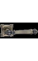 Ручки дверные Валенсия DH 69-19 AB (бронза античная)