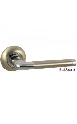 Ручки дверные F28D Матовый никель