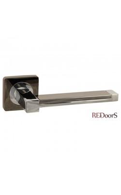Ручки дверные V05BN/CP Черный никель/хром
