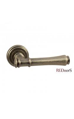 Ручки дверные V16AS Состаренное серебро