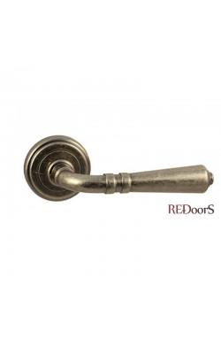 Ручки дверные V18AS Состаренное серебро