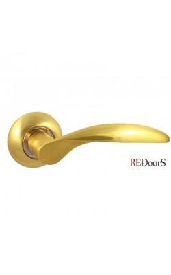 Ручки дверные V20C Матовое золото