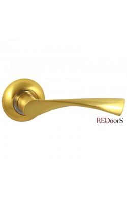 Ручки дверные V23C AL Матовое золото