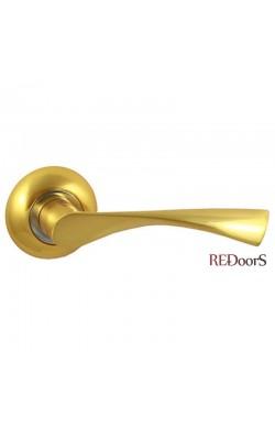 Ручки дверные V23C Матовое золото