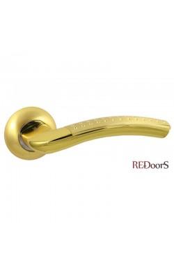 Ручки дверные V26C AL Матовое золото