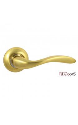 Ручки дверные V57C Матовое золото