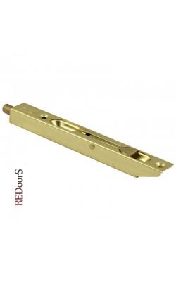 Шпингалет торцевой LX140PB Золото